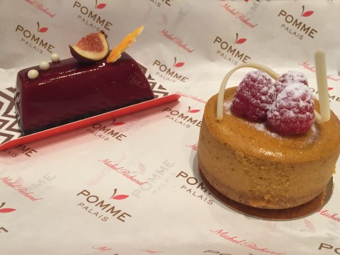 Lotte New York Palace Earl Grey Fig & Pumpkin Cheesecake