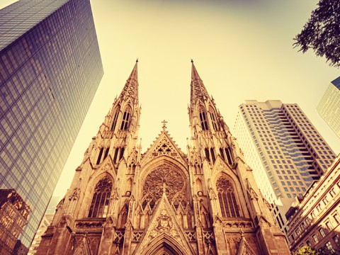 Lotte New York Palace St. Patrick's Cathedral Thanksgiving