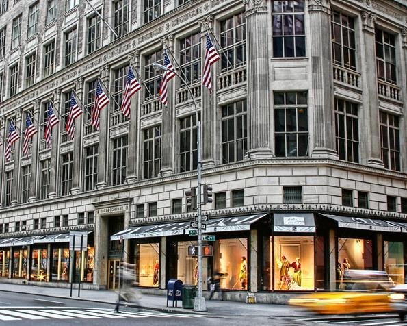 New York Designer Department Stores