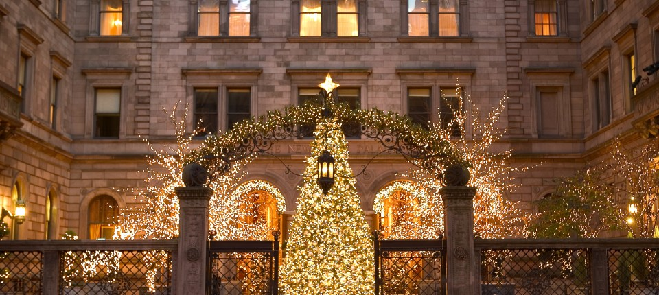 New York Palace Hotel Christmas