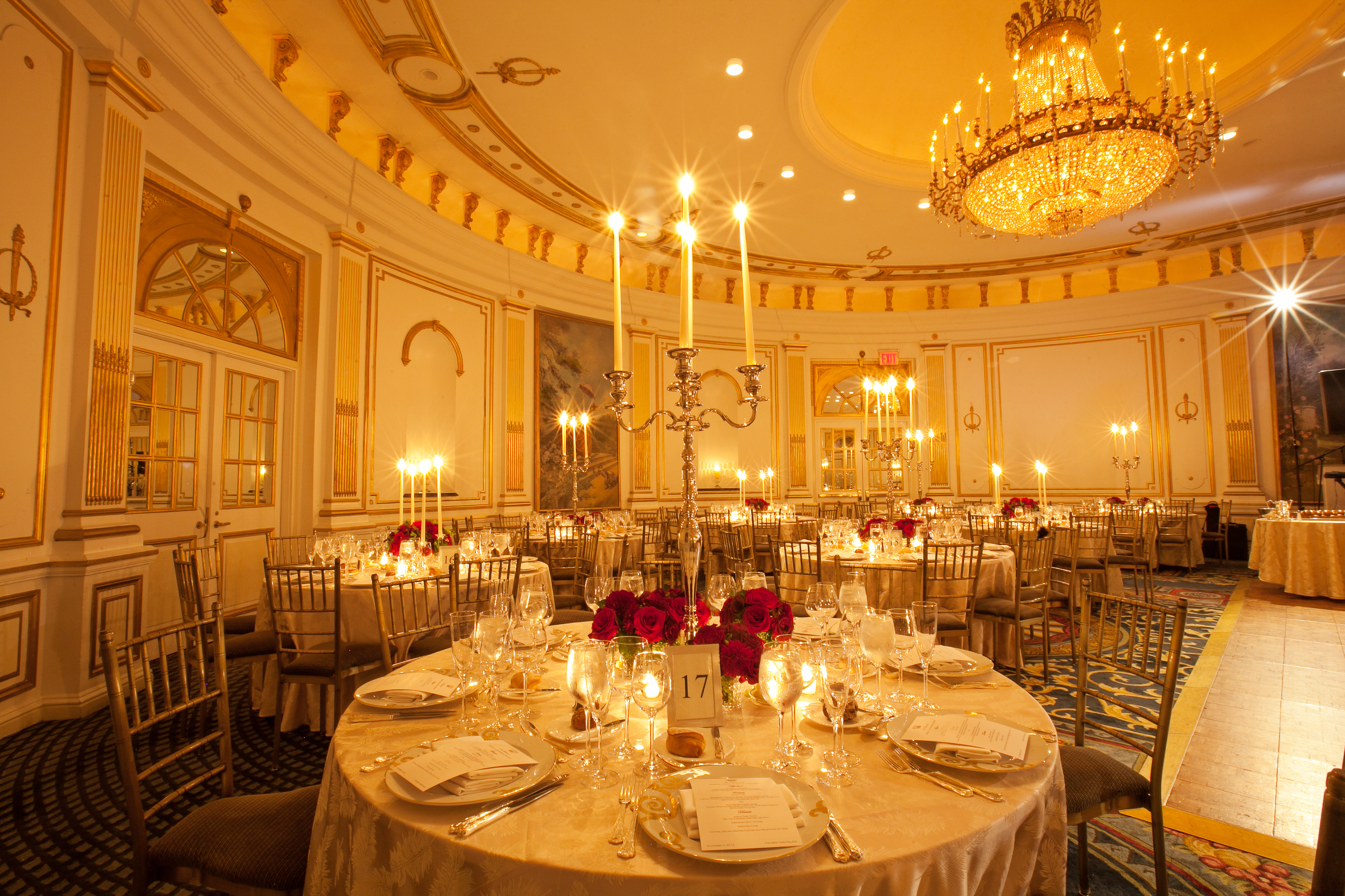 Host Your Holiday Party At Lotte New York Palace