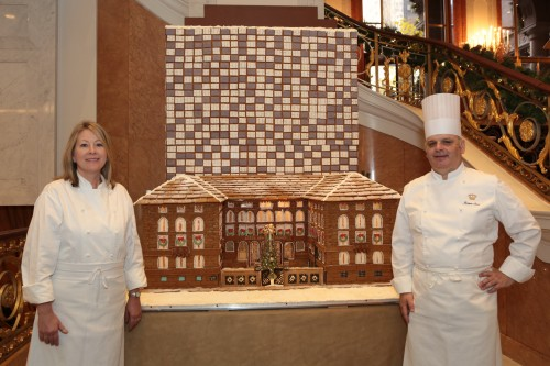 Chefs Tracey and Jacques Sorci Lotte New York Palace