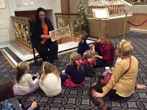 Story Telling & kid friendly at The Palace