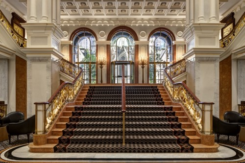 Grand Staircase Lotte New York Palace