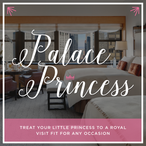 Lotte New York Palace Princess Package
