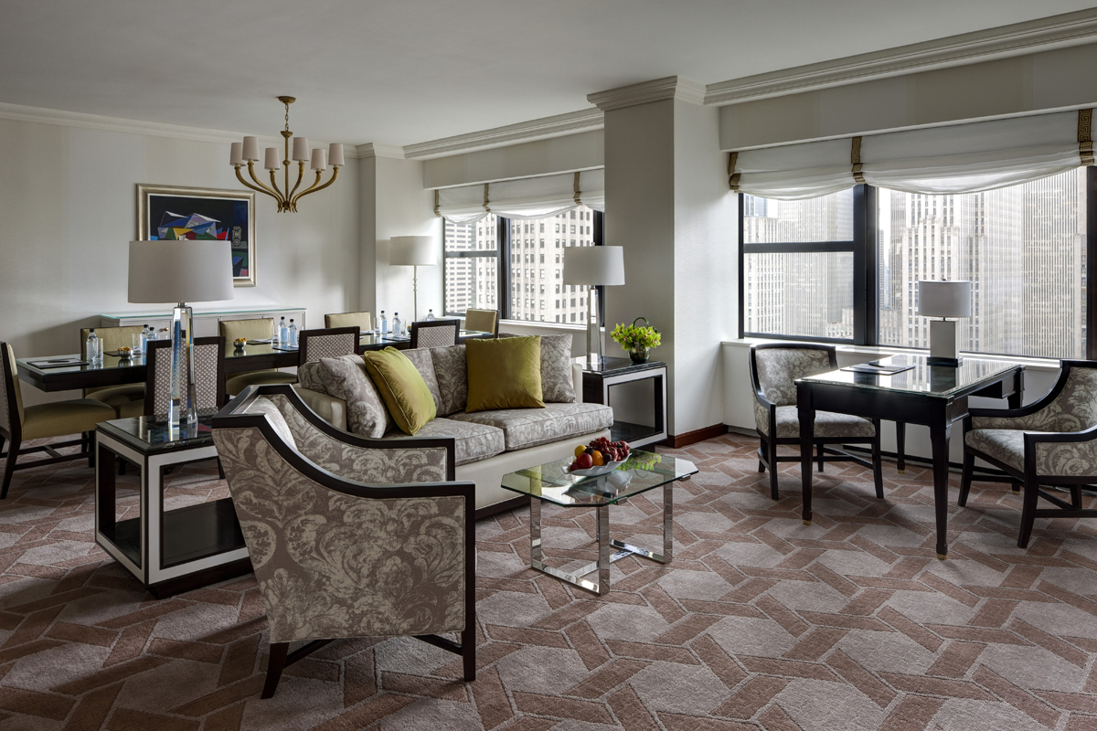 Suite Discoveries: A Deluxe Suite Ideal For Opulent Occasions | Midtown Manhattan Hotels ...