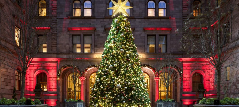 Experience The Holidays At Lotte New York Palace